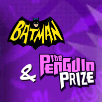 Batman and the Penguin Prize Logo