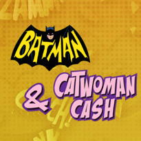 Batman and Catwoman Cash Logo