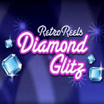 Retro Reels: Diamond Glitz Logo