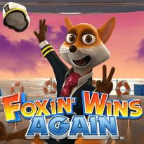 Foxin' Wins Again Logo
