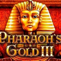 Pharaoh's Gold 3 Logo