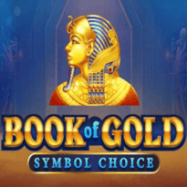 Book of Gold: Symbol Choice Logo