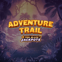 Fire Blaze Jackpots: Adventure Trail Logo