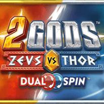 2 Gods - Zeus vs Thor Logo