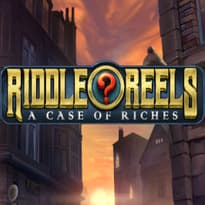 Riddle Reels: A Case of Riches Logo