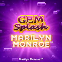 Gem Splash: Marilyn Monroe Logo