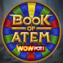 Book of Atem WowPot Logo