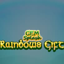 Gem Splash: Rainbows Gift Logo