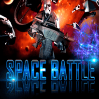 Space Battle Logo