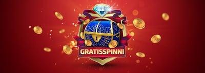 Spela med free spins hela helgen i svenskt casino
