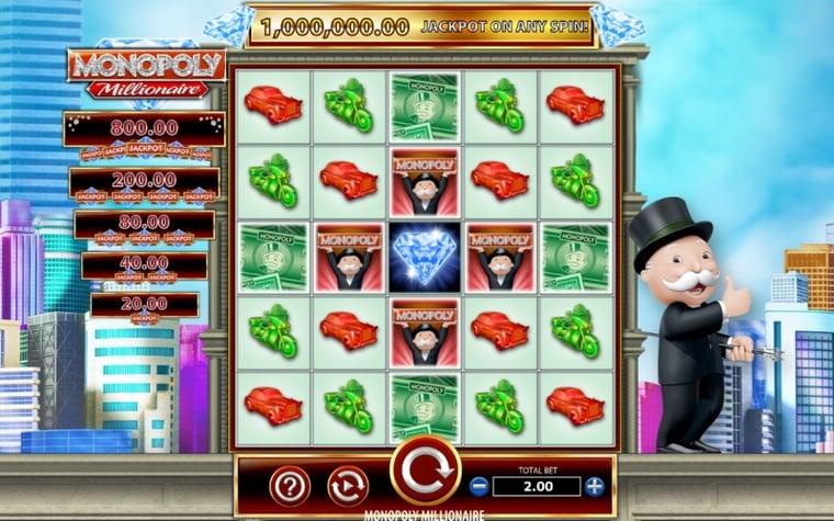 Bästa Monopol slots på casino online