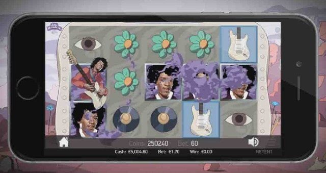 Jimi Hendrix i casino för iPhone ger dagens frisnurr