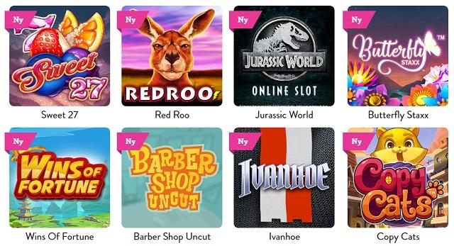 Nya spel som passar i iPhone casinon