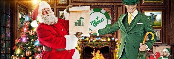 Grön jul är en bra sak på i alla fall ett av våra nätcasinon!