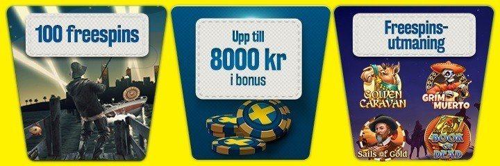 Nå bonusrundan och få casinobonus utan omsättningskrav!