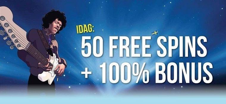 Exklusiv bonus i helgen till svenska casinospelare!