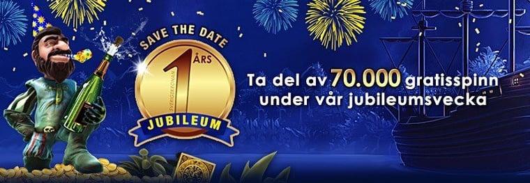 Var med och fira SverigeKronans ettårs-jubileum!
