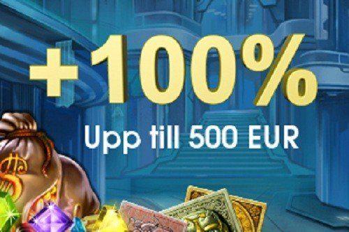 5000 kr extra till svenska spelare hos Casinofloor