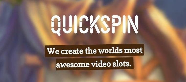 Tre nya spel på gång från Quickspin