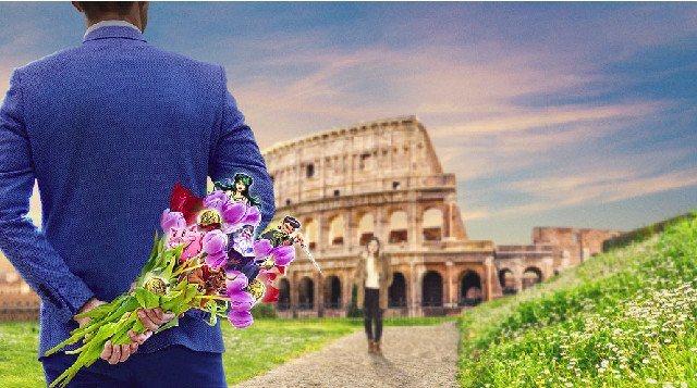 Casinospel på nätet tar dig och kärleken till Rom