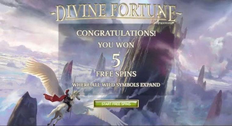 Så funkar jackpotten i Divine Fortune - och hur du får 40 free spins