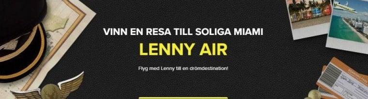 Bästa nya kampanjen i februari 2017 hittar du i Lennys casino