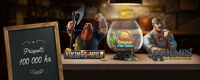 Tre uppdrag i lika många casinospel på nätet kan ge tusenlappar!