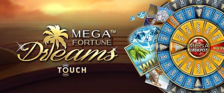 Första Mega Fortune Dreams-vinnaren 2017!