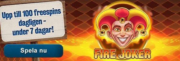 Hett casinospel med omsättningsfria gratissnurr!