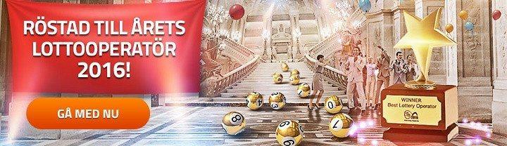 Spela lotto på nätet ikväll om mer än 3 miljarder kronor!