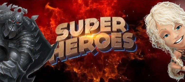 Nya casinospelet gör oss till Super Casino Heroes!