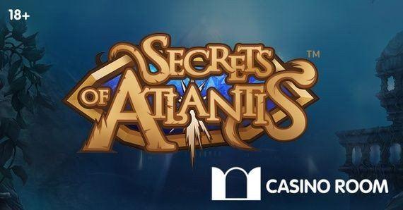 Tyngdlösa free spins i nya casinospelet Secrets of Atlantis