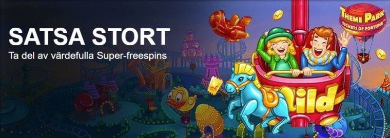 Ytterligare casino på nätet introducerar superspins!