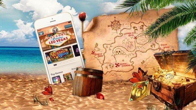 Vinn gyllene iPhone i nya tävlingarna hos LeoVegas mobilcasino