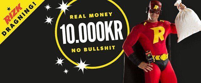 Inga omsättningskrav när Rizk casino belönar sina superhjältar