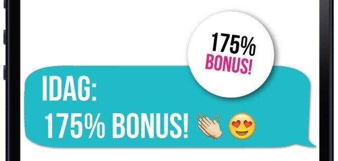 Bara idag - testa årets bästa nya casino med 75% extra i bonus!