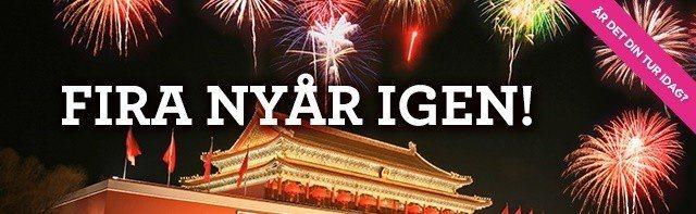 Svenska casinosajter firar kinesiskt nyår
