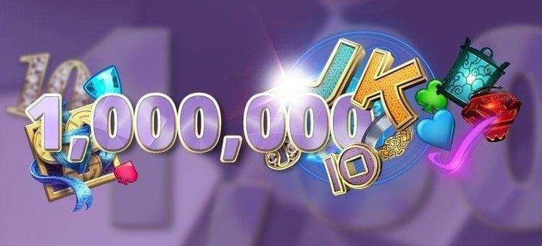 En månad och en miljon free spins!