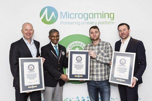 Mega Moolahs Guinness-rekord från 2015 infört i boken