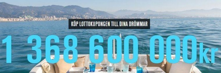 Lotto-Lördag med världens största jackpott!