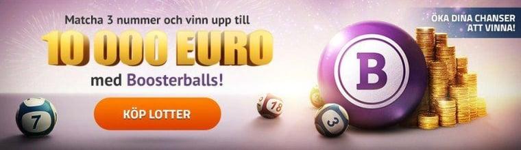 Testa en valfri internationell lotto-dragning helt gratis med EuroLotto