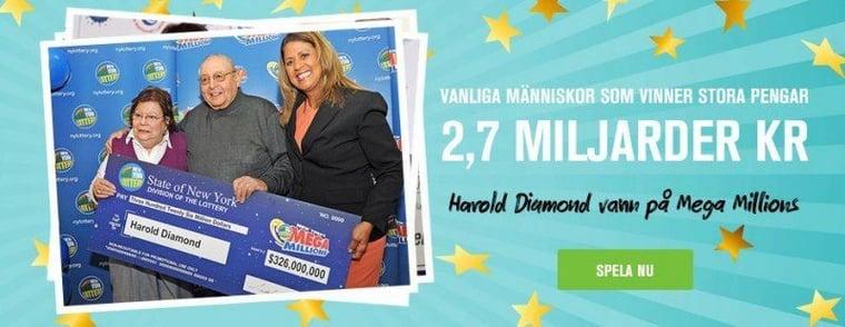 Sluta spela om småpengar - byt till ett bättre Lotto!