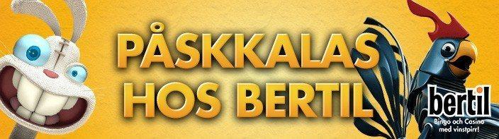 Gratis bingo varje dag hela påsken hos Bertil