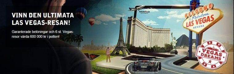 Åk till Vegas med Betsafe Casino