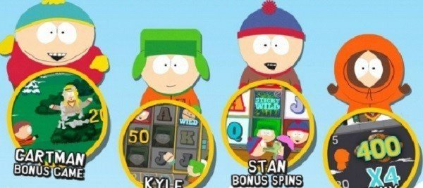 Spela SouthPark och få 100 free spins!