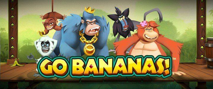 SwedenCasino ger dig 100 free spins på Go Bananas! i helgen!