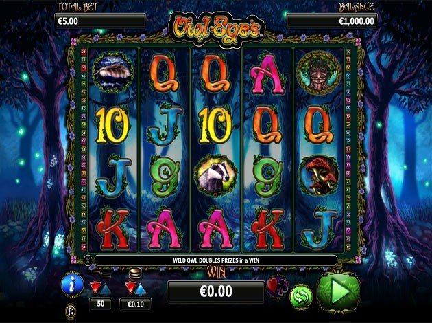 Missa inte nya slotten Owl Eyes på Casino Room