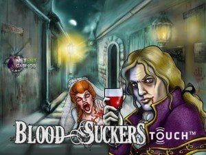 Få 50 free spins på Blood Suckers Touch!