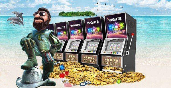Free spins hos Guts Casino