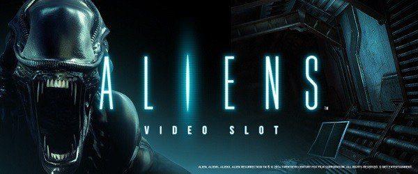 Spela Aliens™ hos Swedencasino